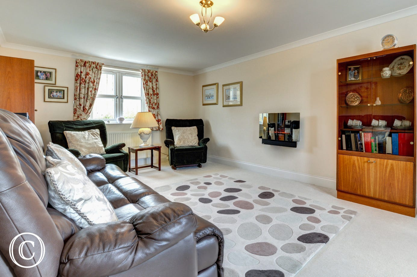 A second sitting room is ideal for the children or if two families are spending a holiday together
