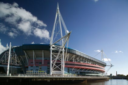 The Principality Stadium - within walking distance