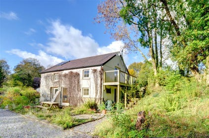 Felin Fach is a fantastic conversion of an old watermill, located in the owners' extensive landscaped gardens, just outside the village of Pumpsaint