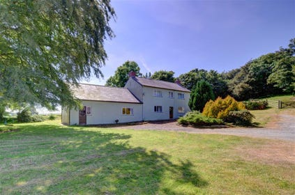 Bryn Farm is an old farmhouse in a rural location surrounded by 50 acres of farmland near the village of Cenarth