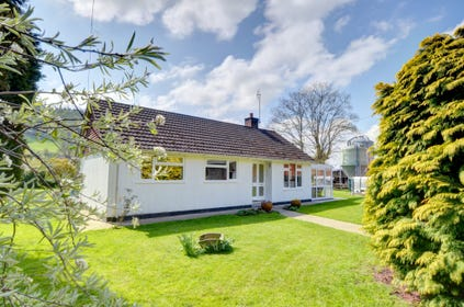 A pretty detached bungalow in its own garden
