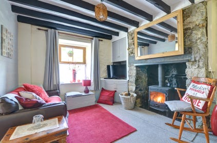 Enjoy the log burner after a day out exploring
