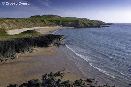 Porthoer (Whistling Sands), just a 0.25 mile walk from the cottage