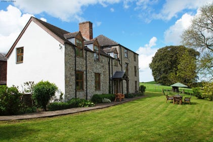 Denbigh accommodation in an Area of Outstanding Natural Beauty