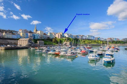 Location of the Apartment in Tenby