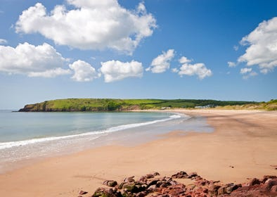 Great beaches of Pembrokeshire nearby