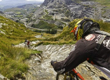 Mountain Biking at Antur Stiniog