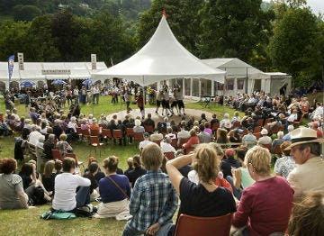 Festivals in Llangollen