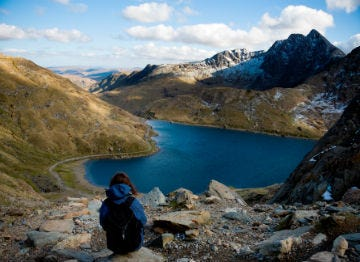 Snowdonia is known as the UK's activity capital